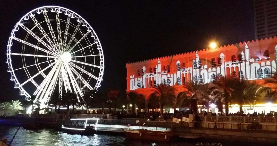 Sharjah Light Festival image-2